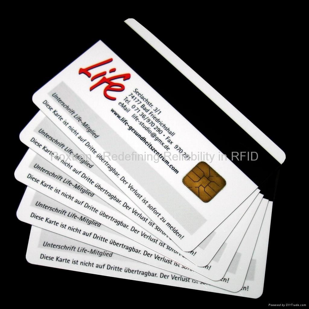 ROXTRON SLE4442 Contact Card