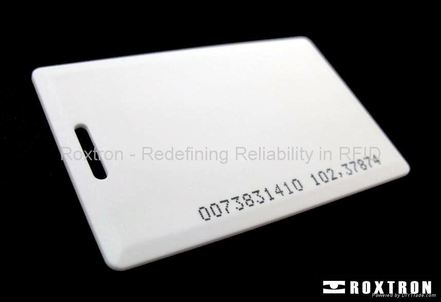 ROXTRON clamshell card