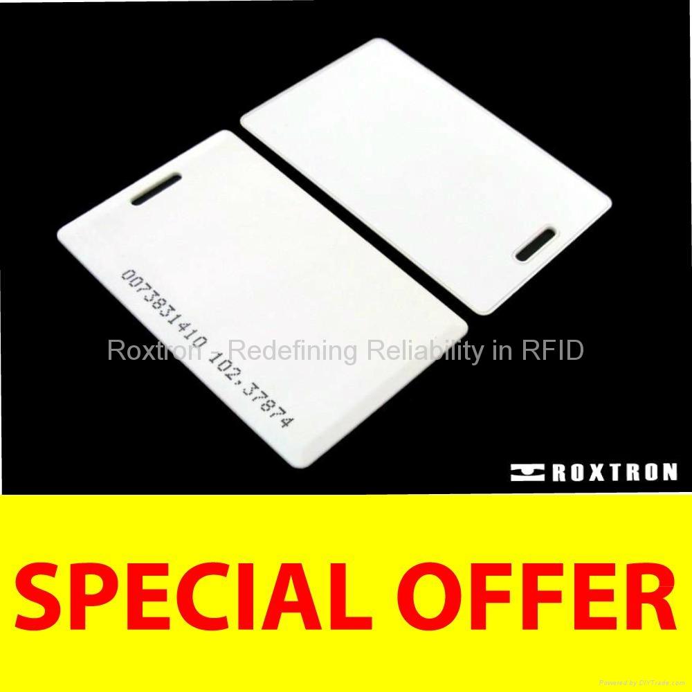 ROXTRON uhf clamshell card