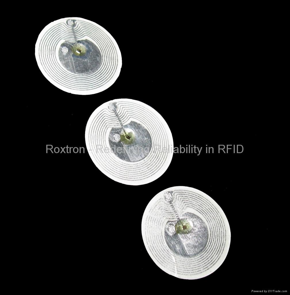 ROXTRON LEGIC MIM1024 Adhesive Paper Label