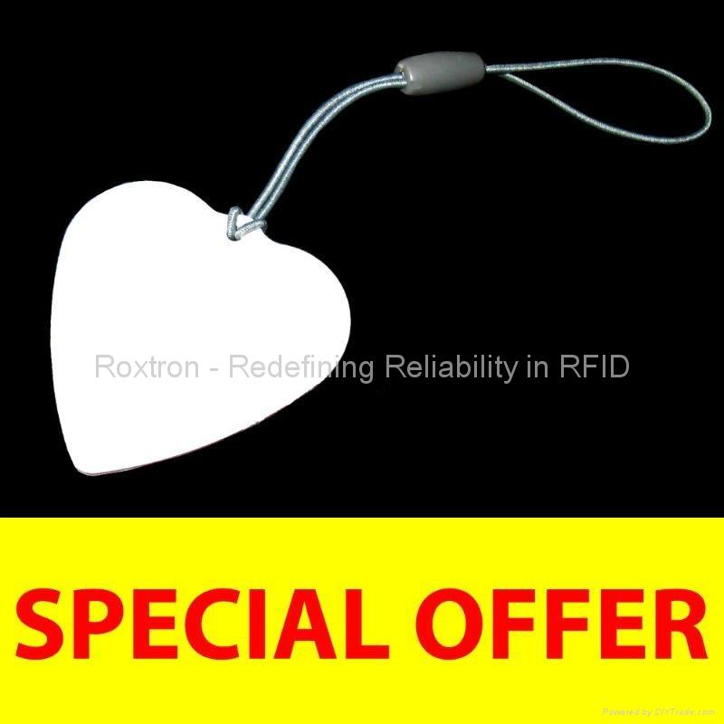 MIFARE Ultralight RXK06 Custom Shape Key Tag 4
