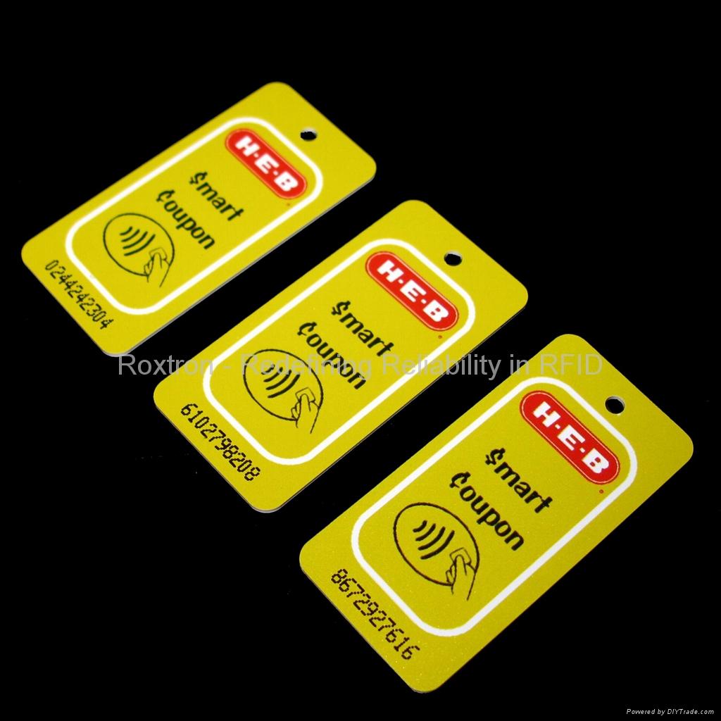 MIFARE DESFire EV1 4K RXK06 Custom Shape Key Tag 5