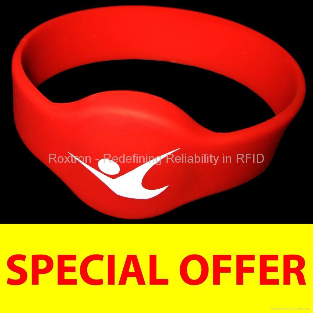 ROXTRON Hitag 1 RW05 Silicone Wristband
