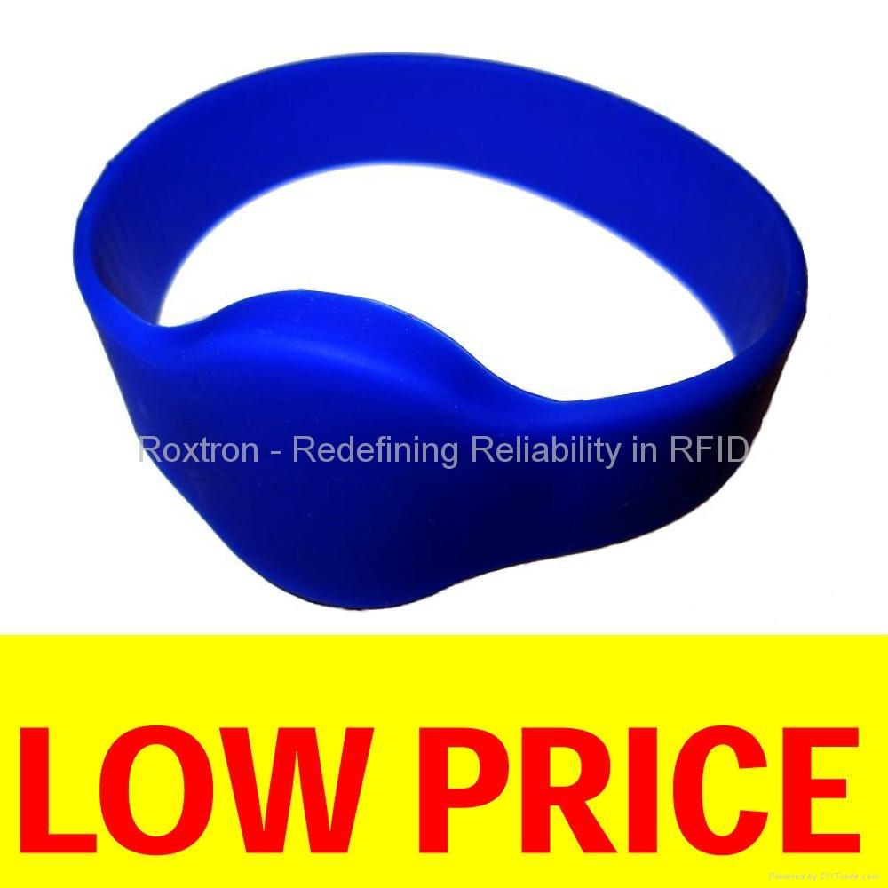 ROXTRON MIFARE 4K RW05 Silicone Wristband