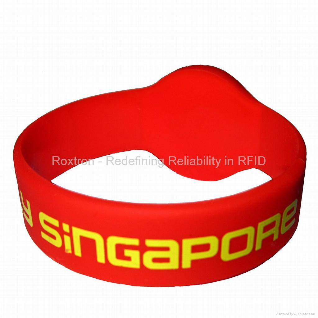 MIFARE Mini RW05 Silicone Bracelet / Wristband 5
