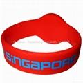 Hitag S 256 RW05 Silicone Wristband