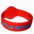 Hitag S 2048 RW05 Silicone Wristband