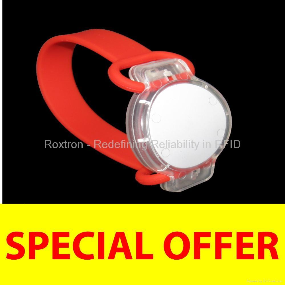 ROXTRON EM4102 Flexo Wristband