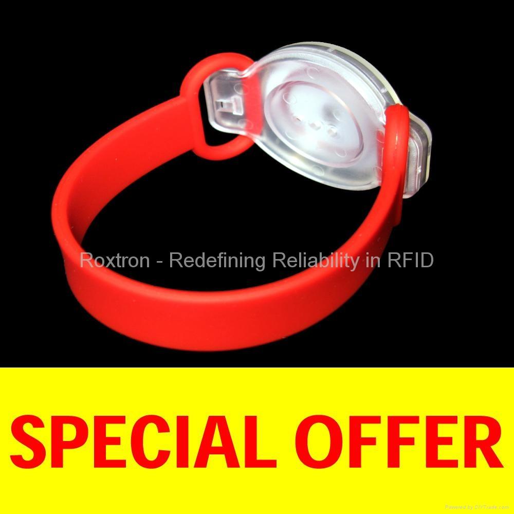 ROXTRON MIFARE 4K Flexo Wristband