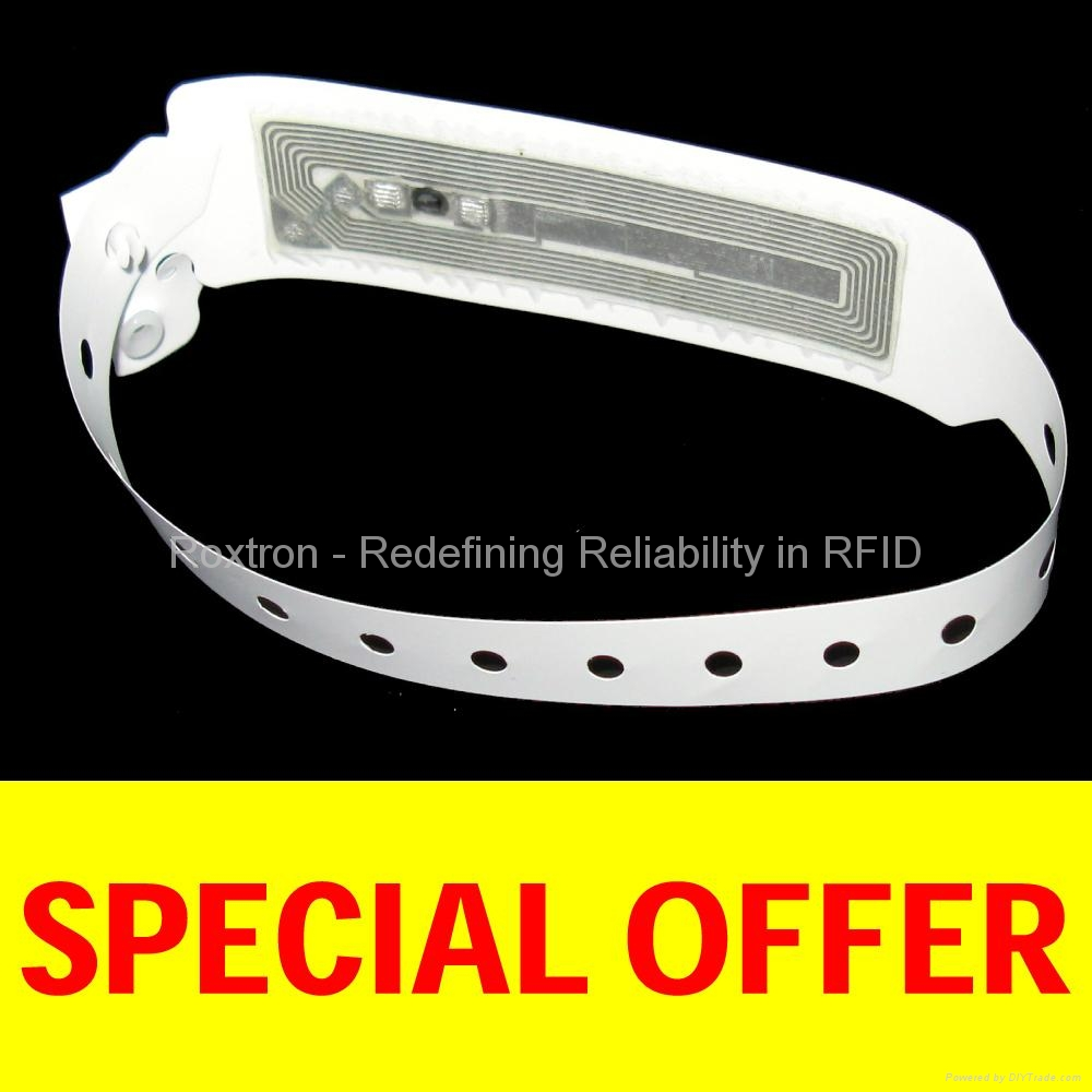 ROXTRON MIFARE Disposable RS06 Wrist Strap