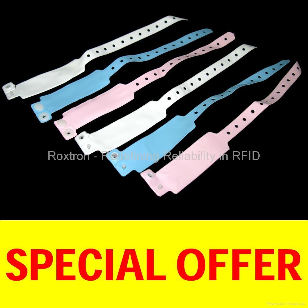 ROXTRON Mifare-Compatible Disposable RS06 Wrist Strap