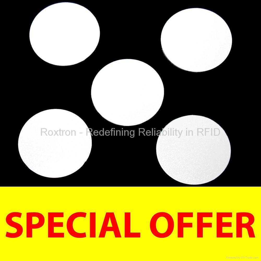 ROXTRON 13.56 MHz PVC Disc Tag