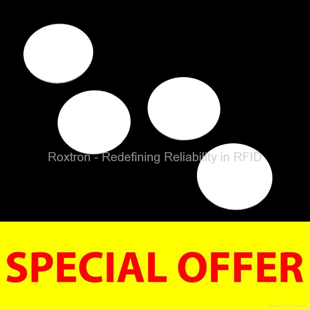 ROXTRON ISO14443A PVC Disc Tag