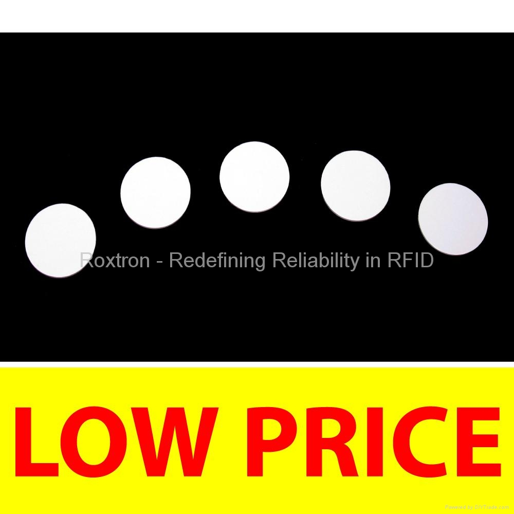 ROXTRON MIFARE PVC Disc Tag