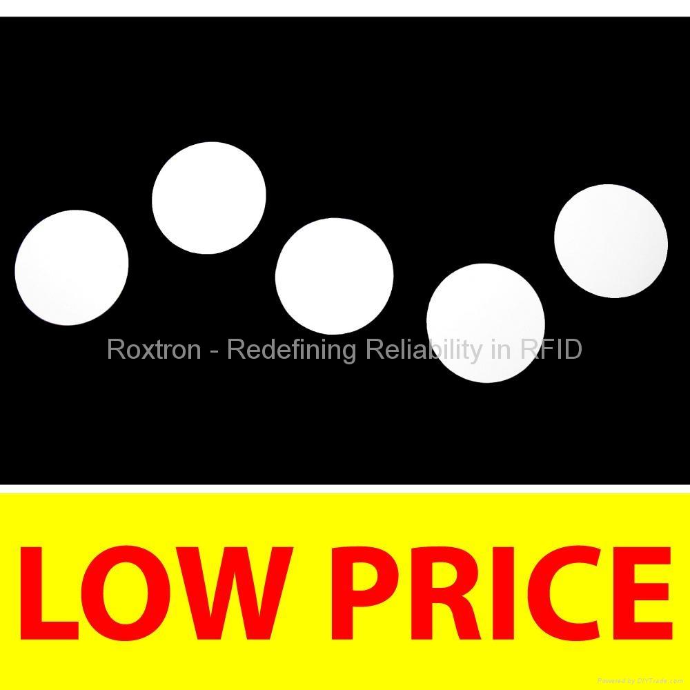 ROXTRON NFC PVC Disc Tag