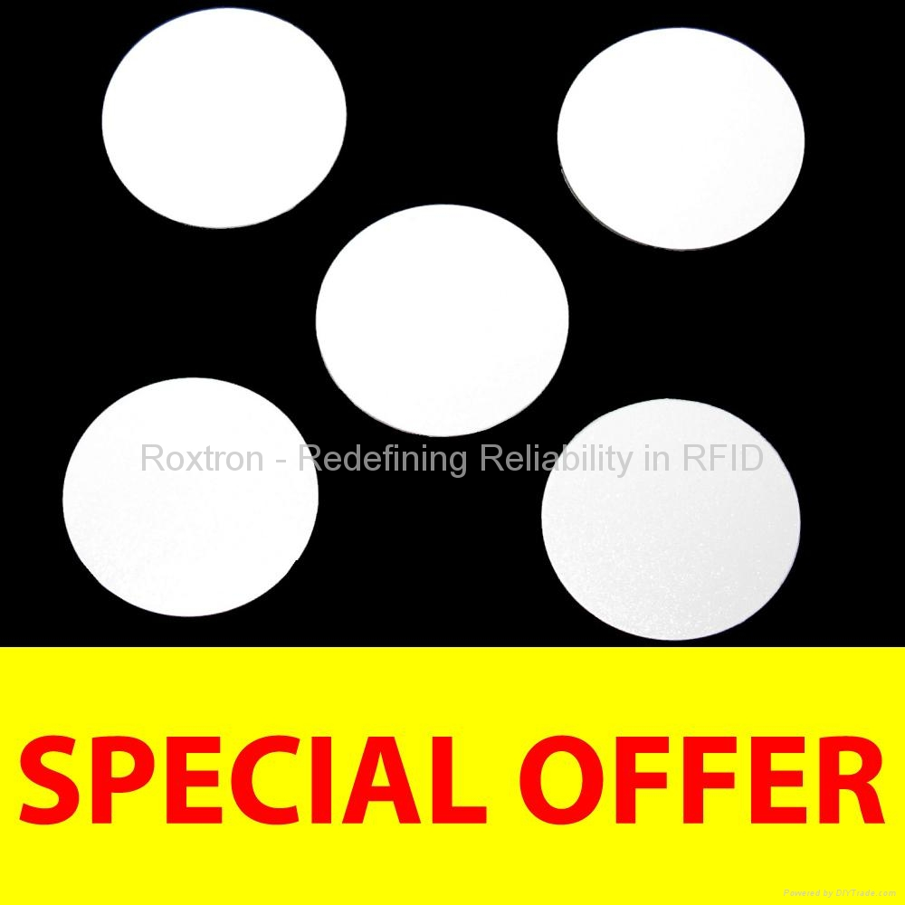 ROXTRON MIFARE Mini PVC Disc Tag