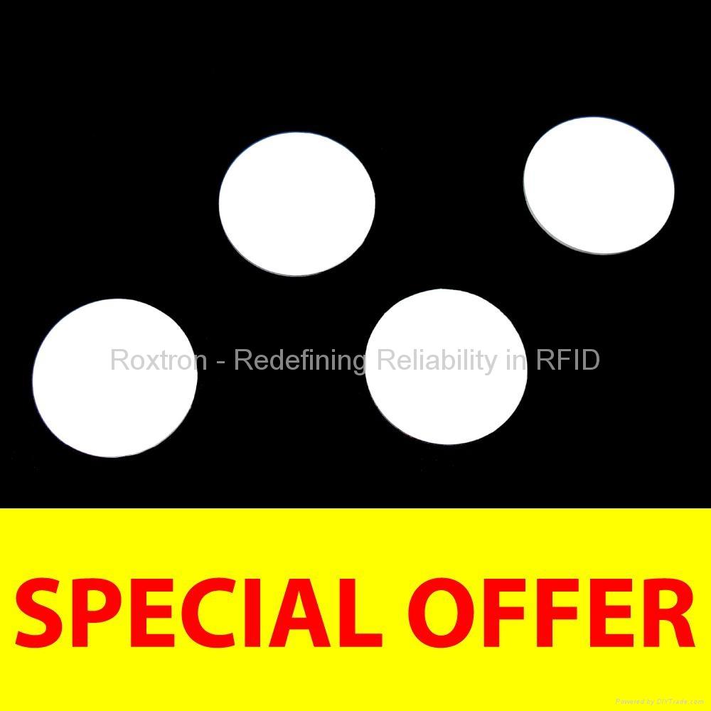 ROXTRON Mifare-Compatible PVC Disc Tag
