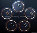 MIFARE Plus S 4K Transparent Disc Tag