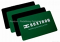 ROXTRON Dual Frequency PVC ISO Card