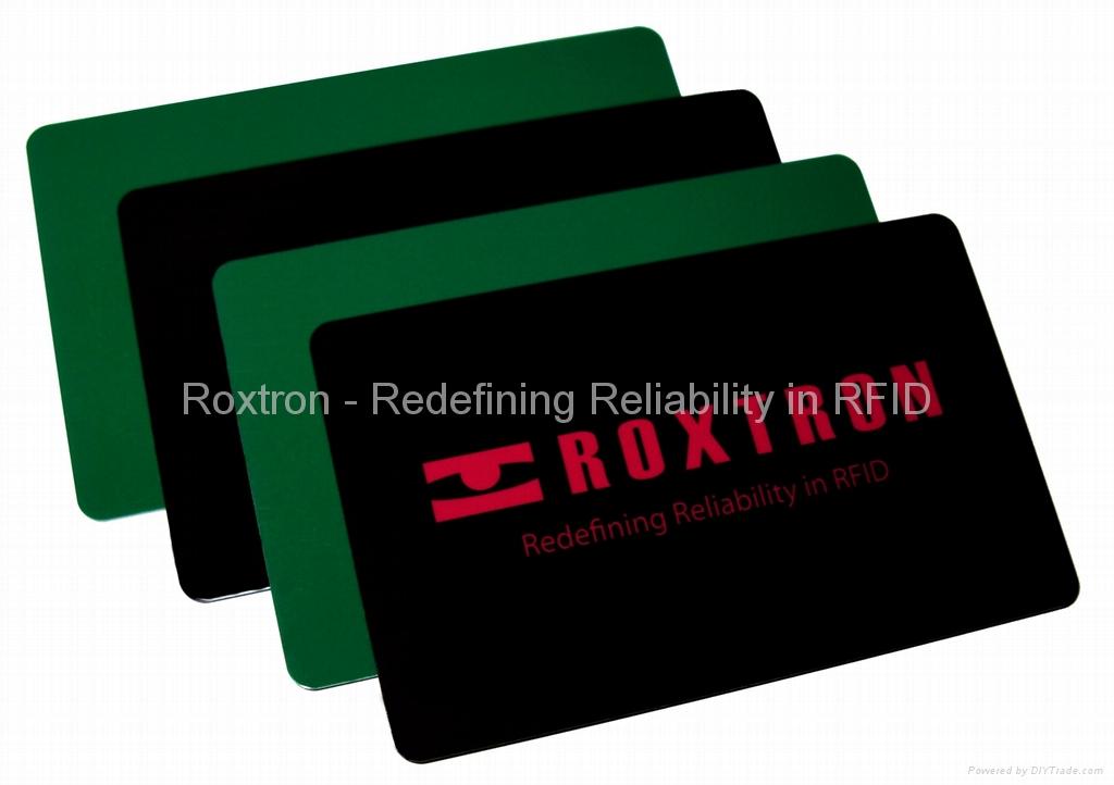 ROXTRON ICODE SLI + ATA5577 Dual Frequency PVC ISO Card