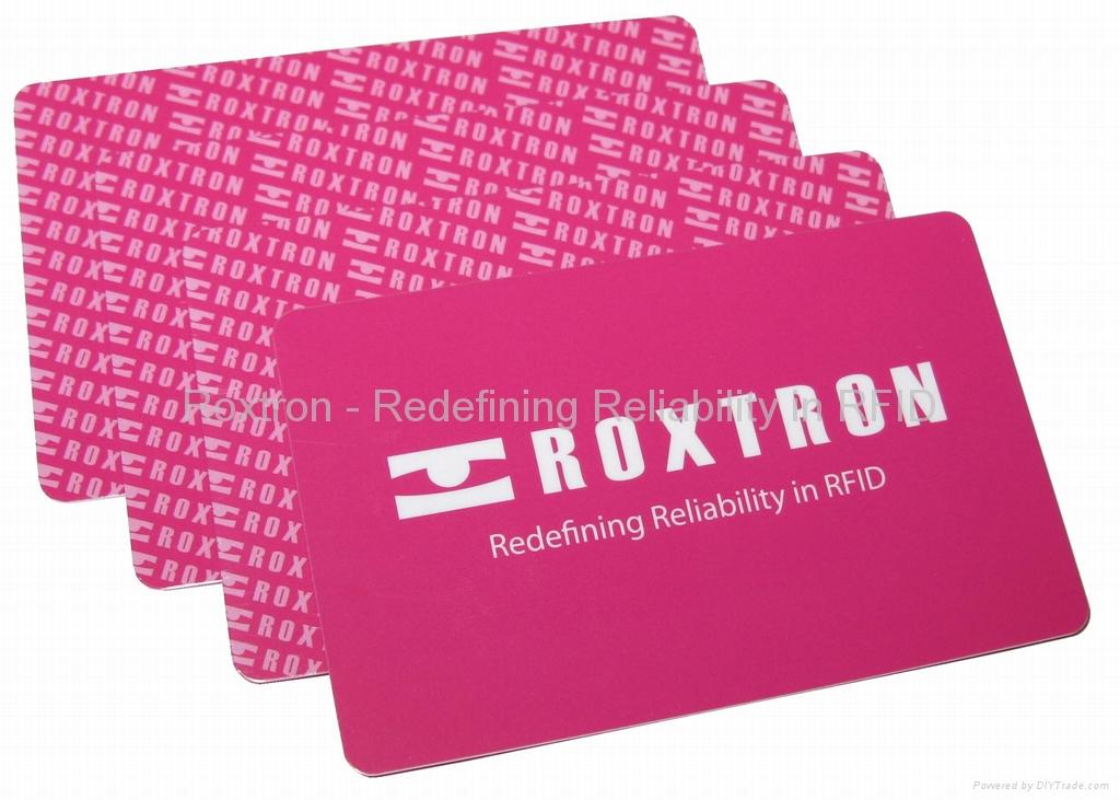 ROXTRON SLE5542 + MIFARE 1K Dual Interface PVC ISO Card