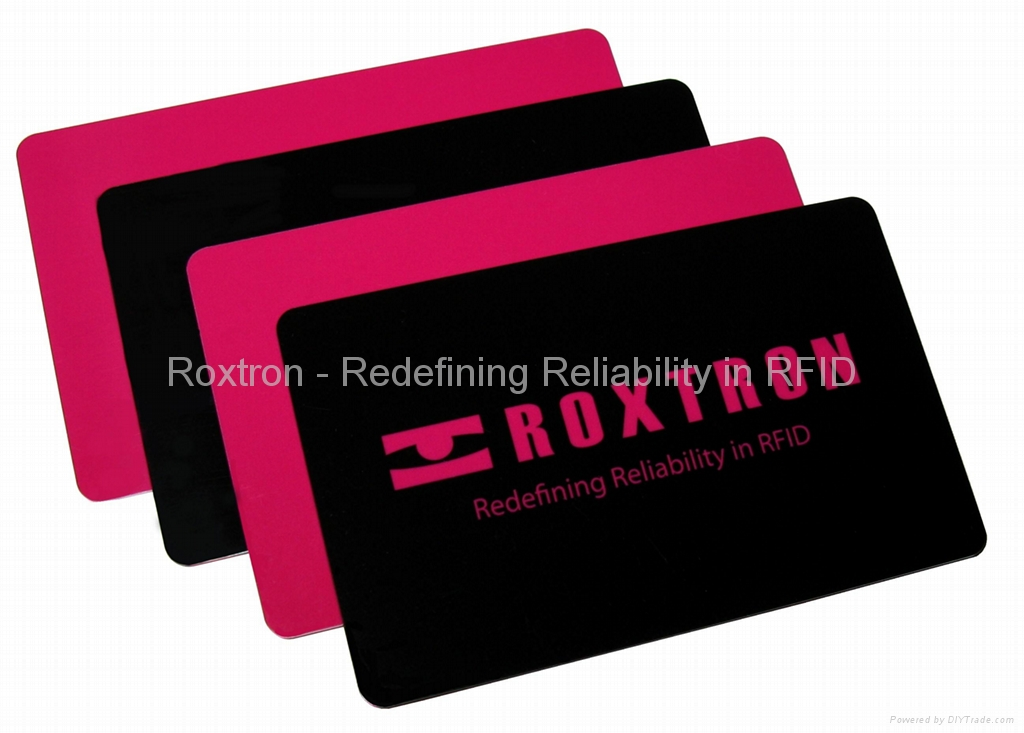 ROXTRON SLE5528 + ICODE SLI Dual Interface PVC ISO Card