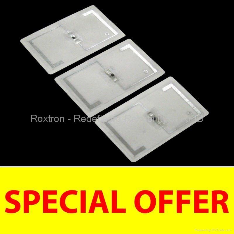 ROXTRON 125 KHz Adhesive Paper Label
