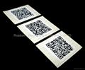 MIFARE Plus S 4K Adhesive Paper Label