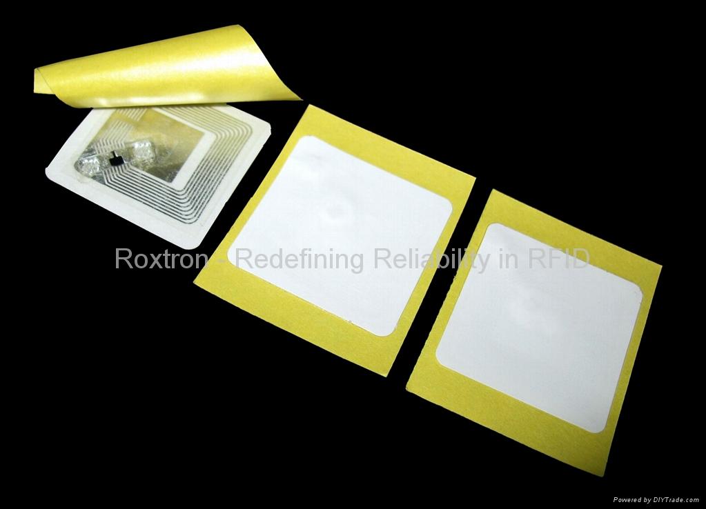 ROXTRON LEGIC ATC1024 Adhesive Paper Label