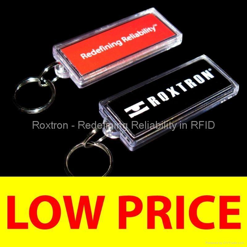 ROXTRON MIFARE DESFire RXK05 Key Ring