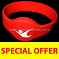ROXTRON MIFARE Plus X 2K RW05 Silicone Wristband
