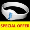 ROXTRON MIFARE DESFire RW05 Silicone Wristband