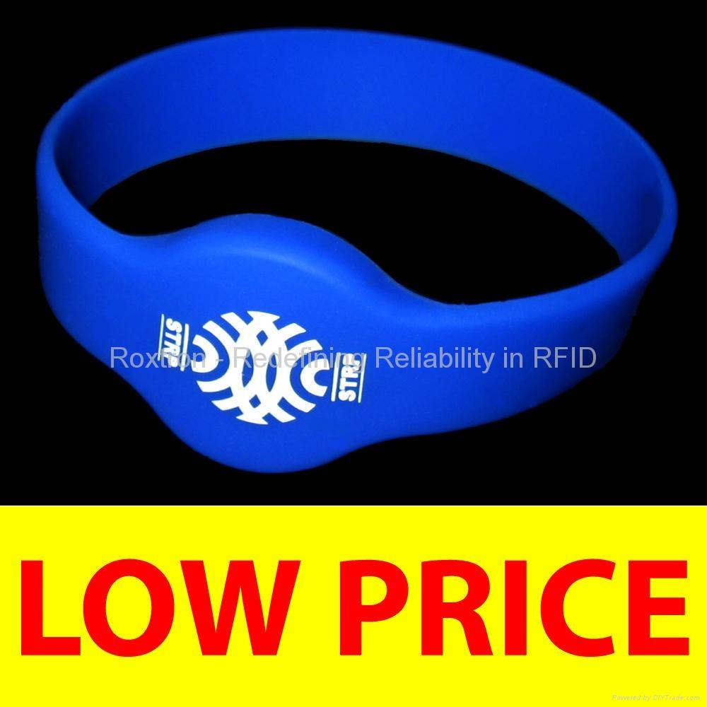 ROXTRON LEGIC Prime RW05 Silicone Wristband