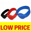 ISO14443B RW05 Silicone Wristband