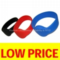 ISO18000-6C RW05 Silicone Wristband