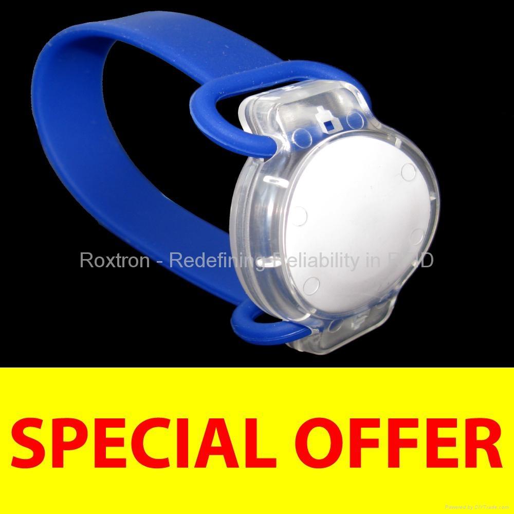 ICODE SLI Flexo Wristband