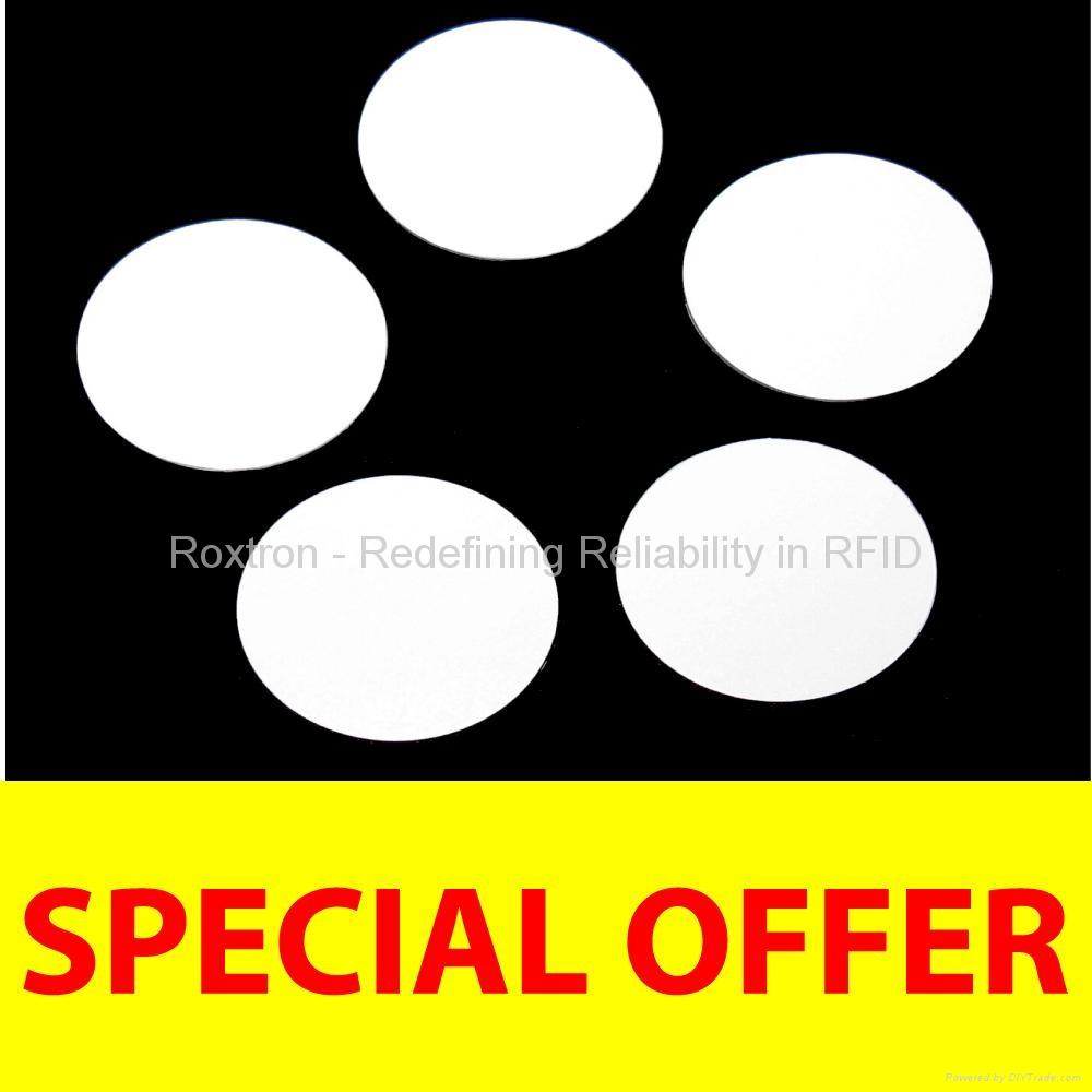 ROXTRON MIFARE DESFire EV1 2K PVC Disc Tag