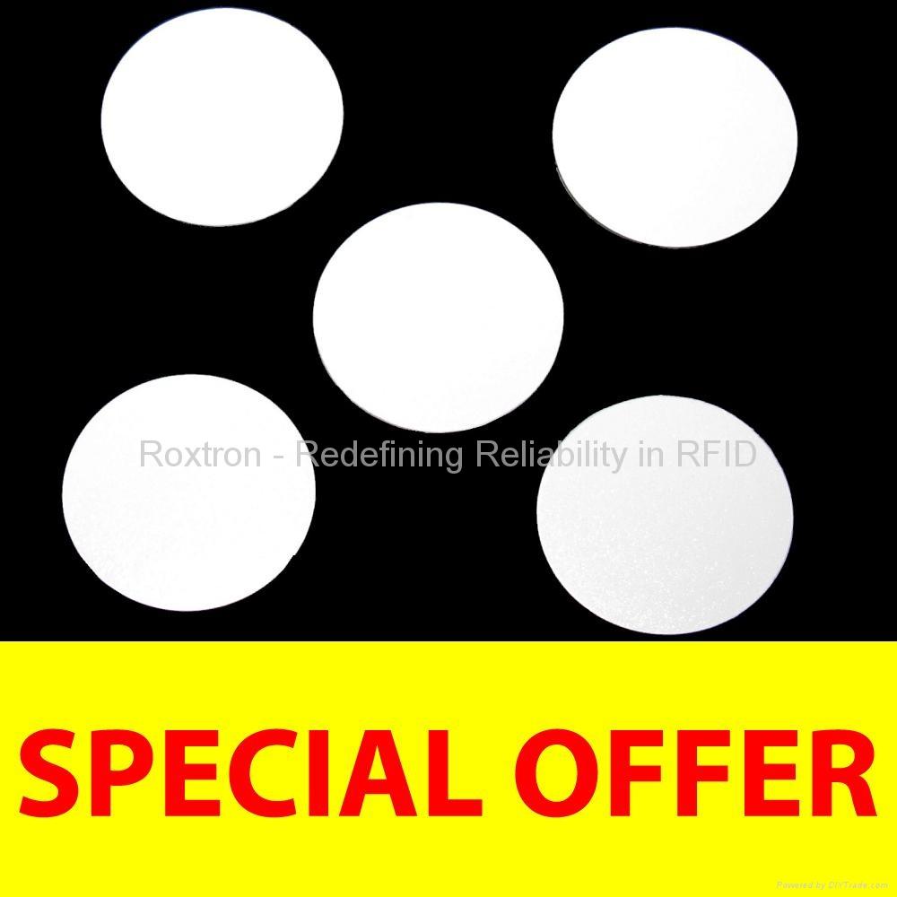 ROXTRON MIFARE DESFire EV1 8K PVC Disc Tag