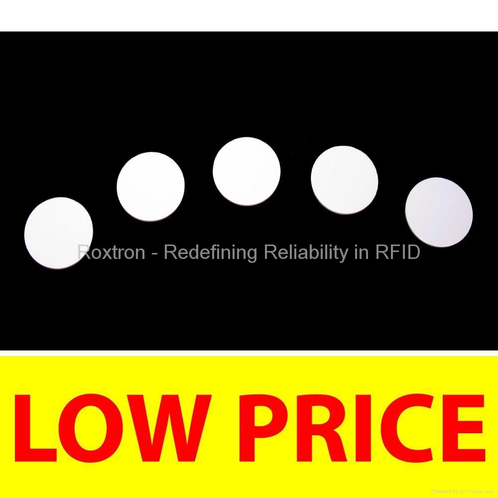 ROXTRON LEGIC Prime PVC Disc Tag