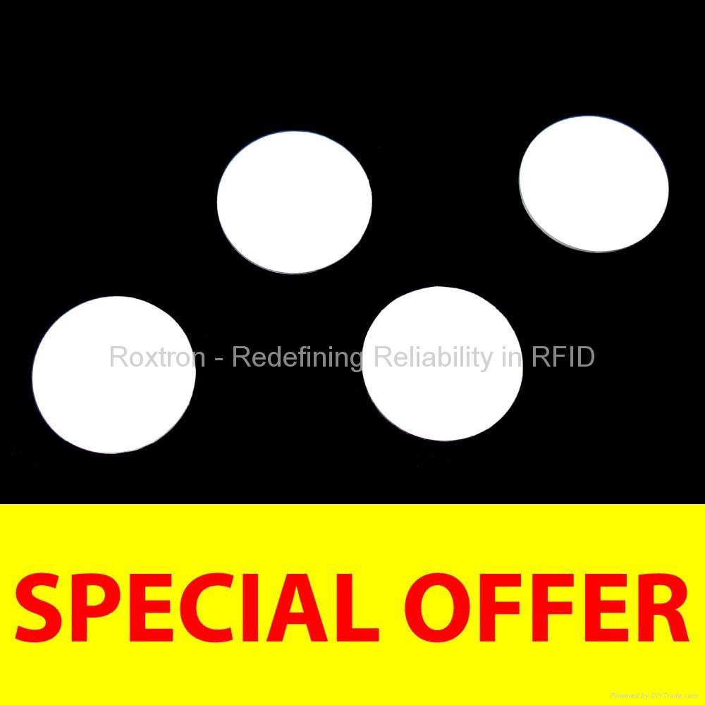 ROXTRON LEGIC MIM256 PVC Disc Tag