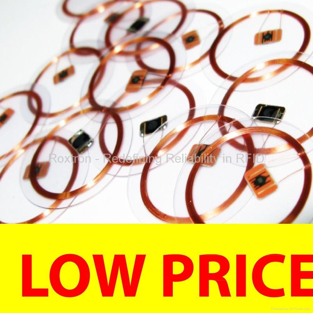 ROXTRON MIFARE DESFire EV1 8K Transparent Disc Tag