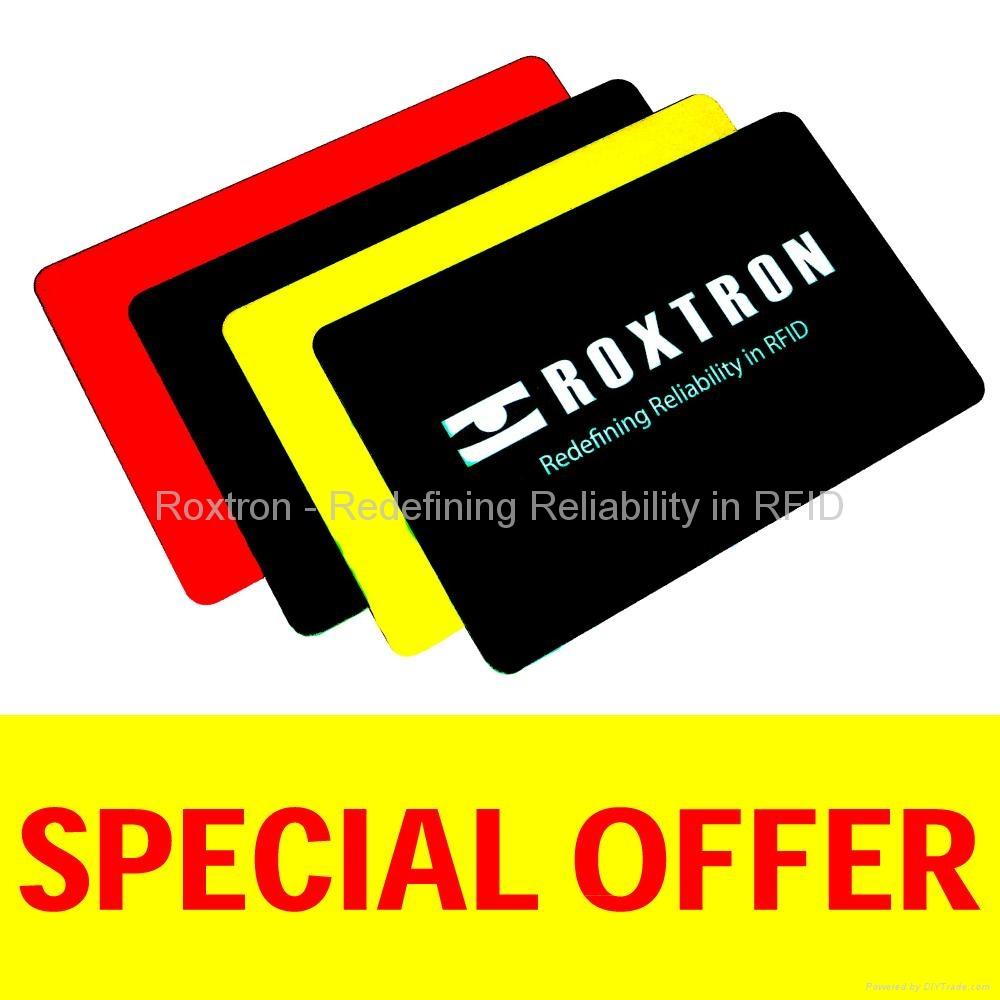 ROXTRON T5557 PVC ISO Card