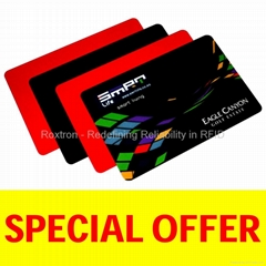 MIFARE Ultralight PVC ISO Card (Special Offer from 6-Year Gold Supplier)