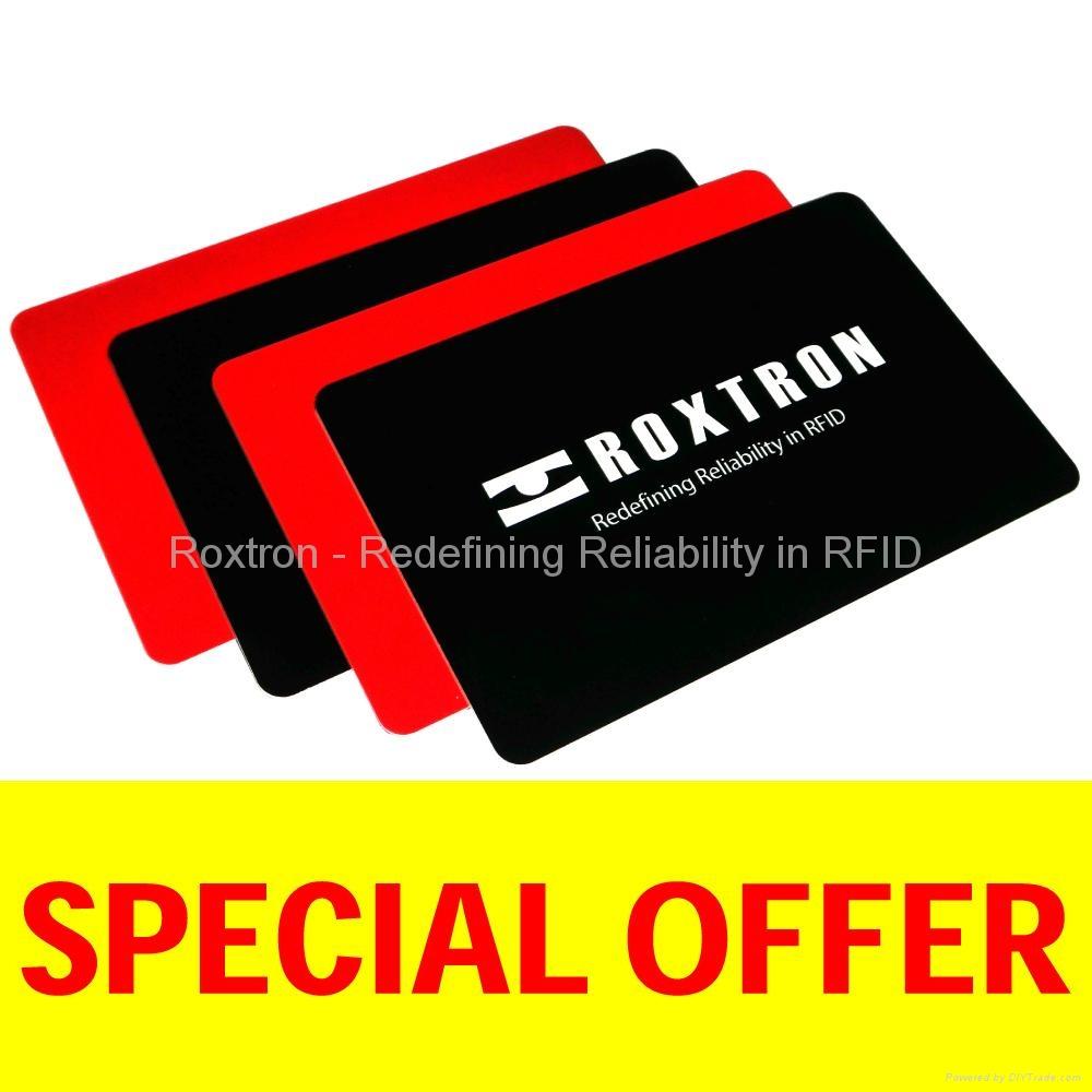 ROXTRON EM4205 PVC ISO Card