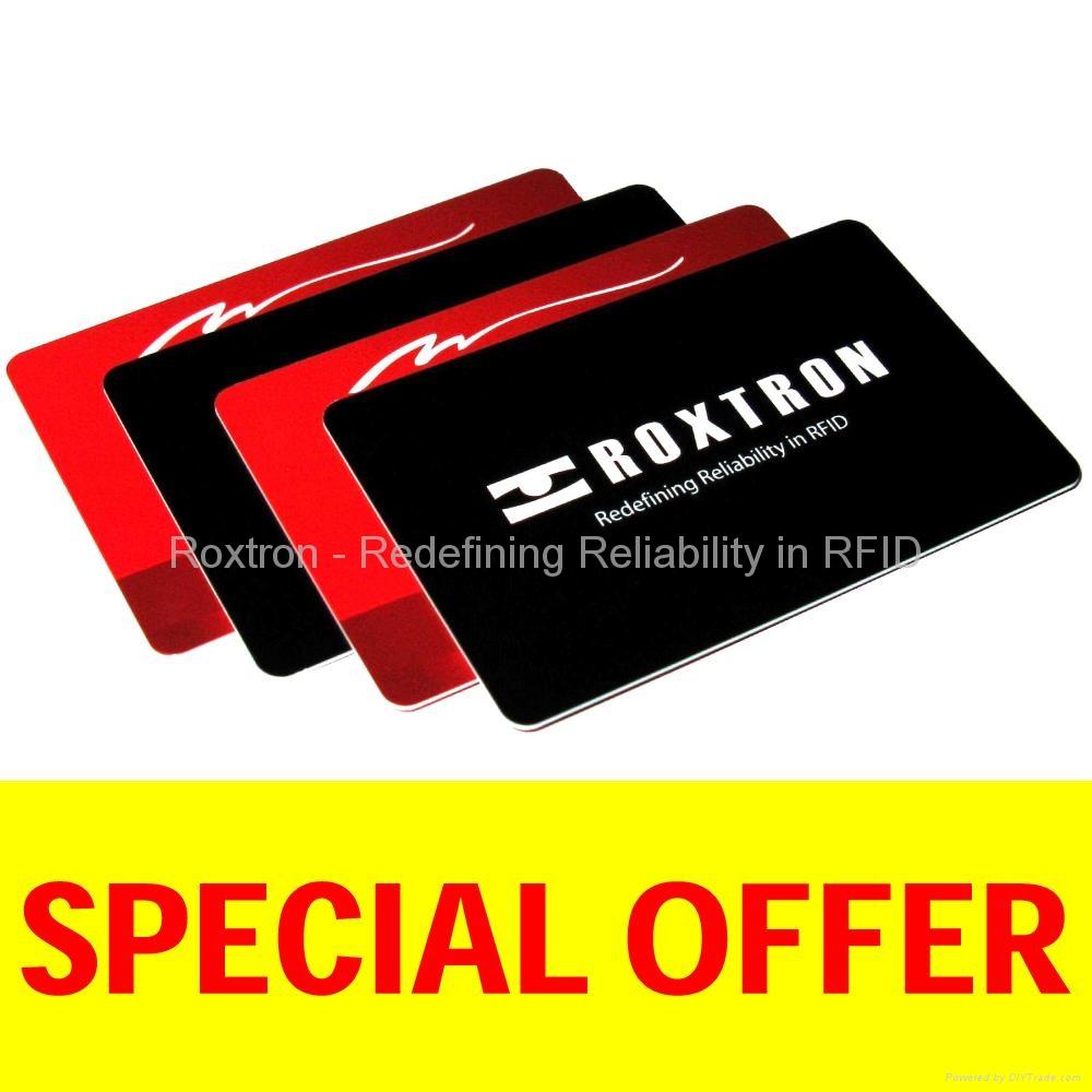 ROXTRON EM4450 PVC ISO Card