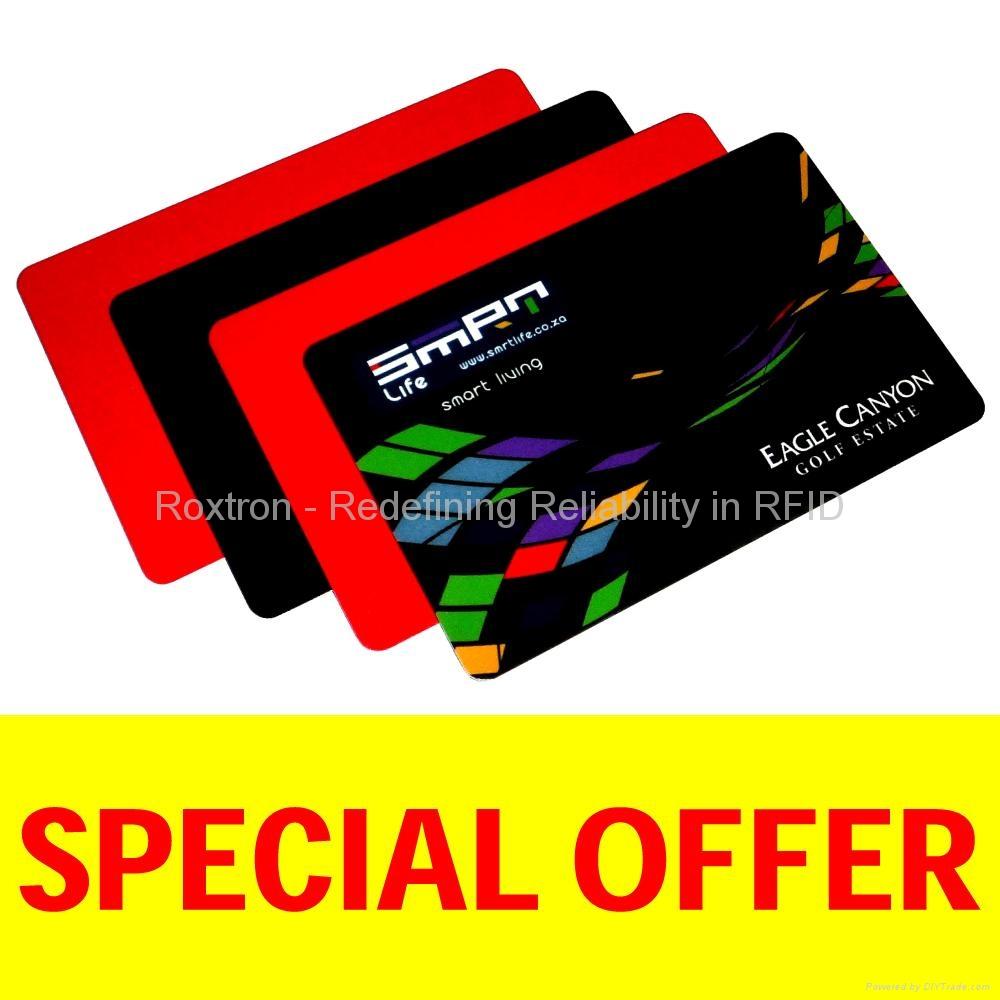 ROXTRON EM4550 PVC ISO Card