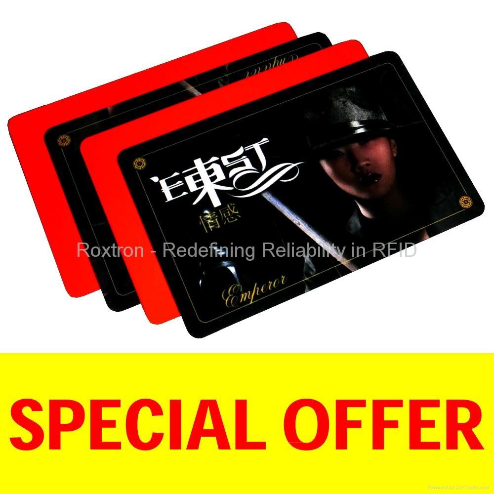 ROXTRON EM Marin PVC ISO Card