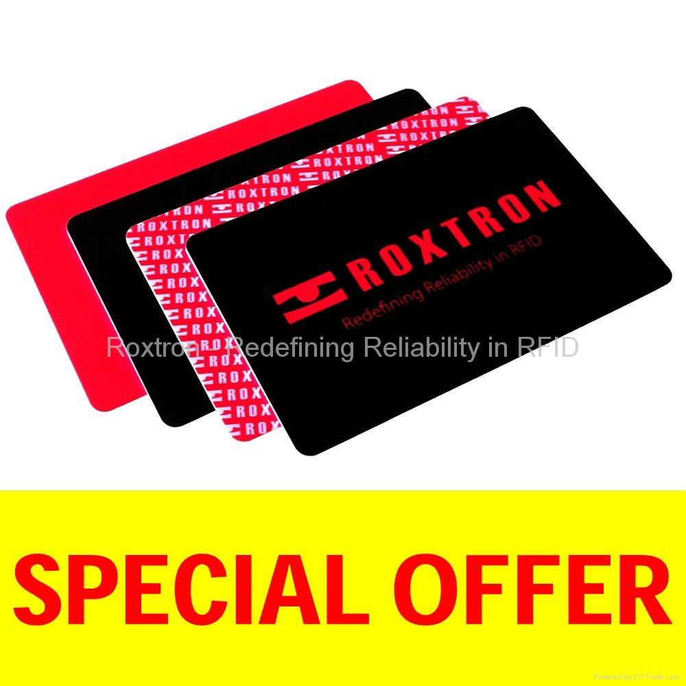 ROXTRON Hitag S 256 PVC ISO Card