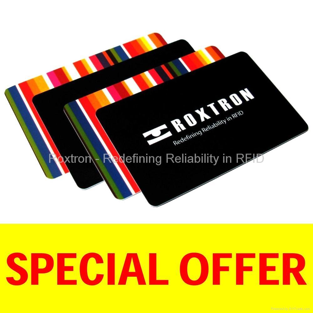 ROXTRON MIFARE Plus X 4K PVC ISO Card