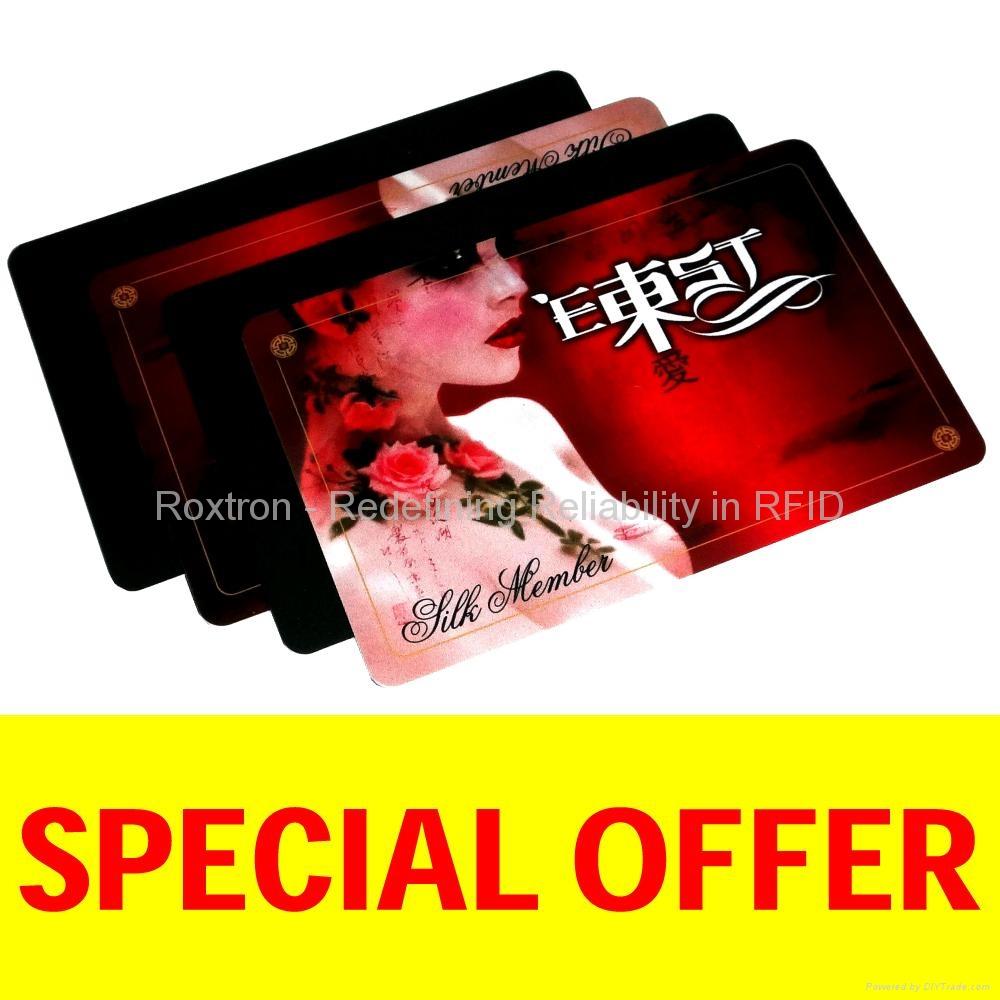 ROXTRON MIFARE DESFire EV1 2K PVC ISO Card